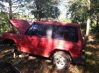 Red 1987 Dodge Raider Project