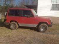 1987 Red Dodge Raider