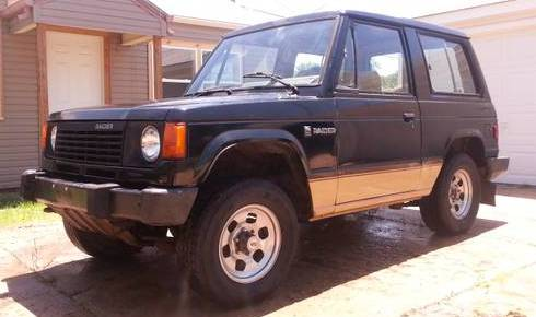 Mint 1987 Dodge Raider SUV 4X4 For Sale El Dorado (Wichita), Kansas
