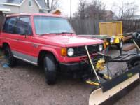 1987 dodge raider plow truck