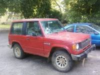 1988 Red Dodge Raider