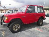 1989 Dodge Raider Red