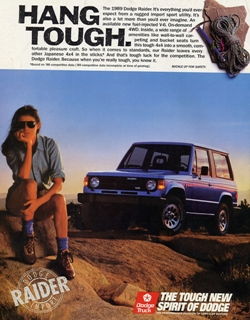 Dodge Raider Advertisement
